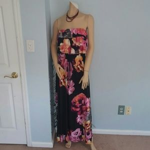 Floral Tiered Maxi 1X
